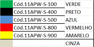 TABELA 11APW-S-100 OPW